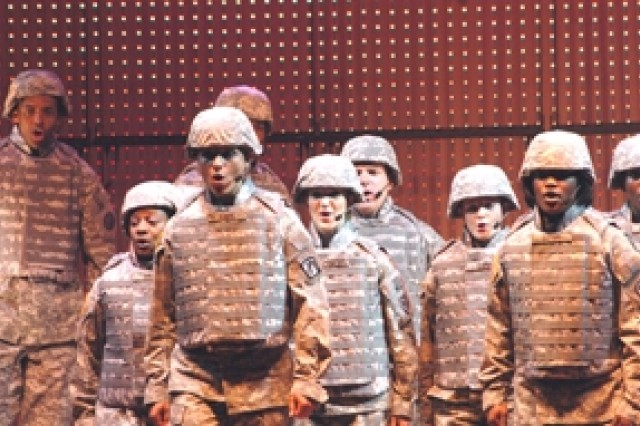 Soldier Show performers come from aviation, biological, infantry, medical, musical, signal, transportation and other tactical units.