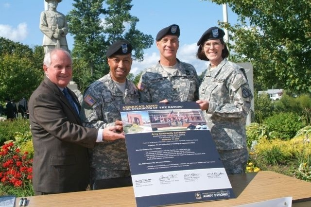 Military, civilian leaders sign Army Community Covenant