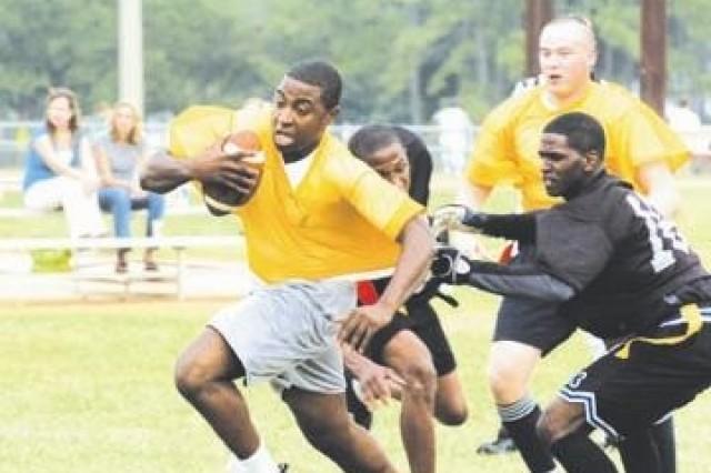 Stewart Intramural Football Kicks Off