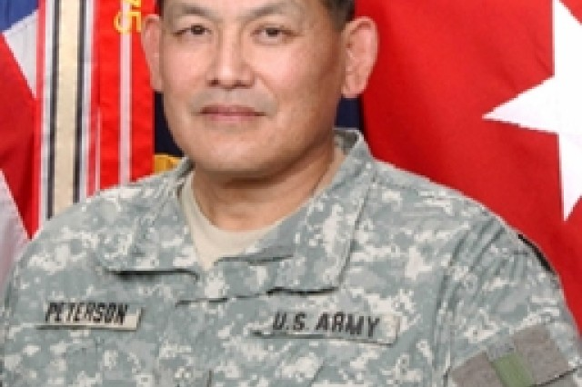 Lt. Gen. Joseph F. Peterson, FORSCOM's deputy commanding general