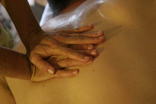 Massage aids in stress release and overall health