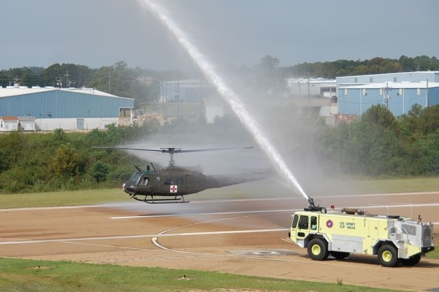 Vietnam veteran takes final flight in Huey