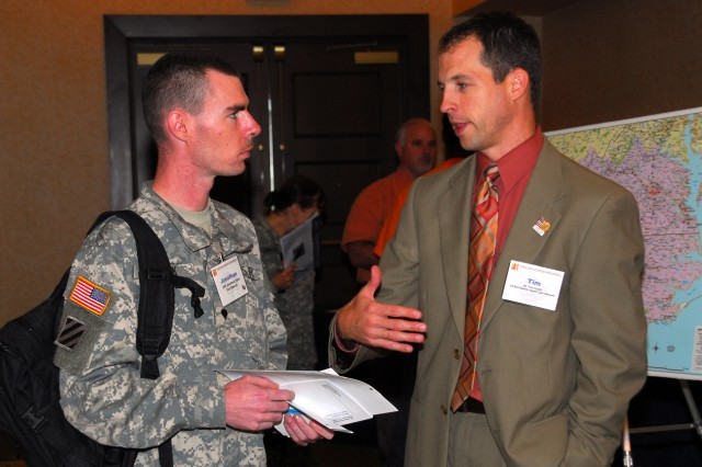 Soldiers learn lessons in transition at H-3 conference