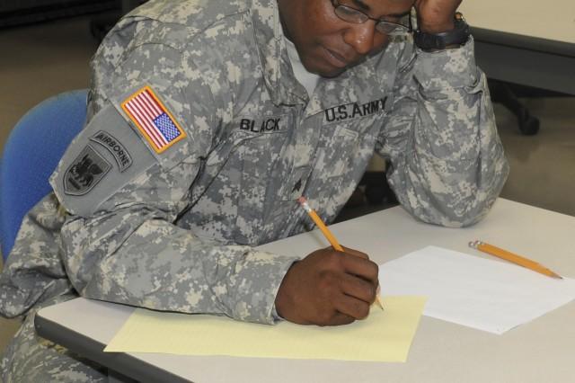 """""""Best Warrior"""" Written Examination"""