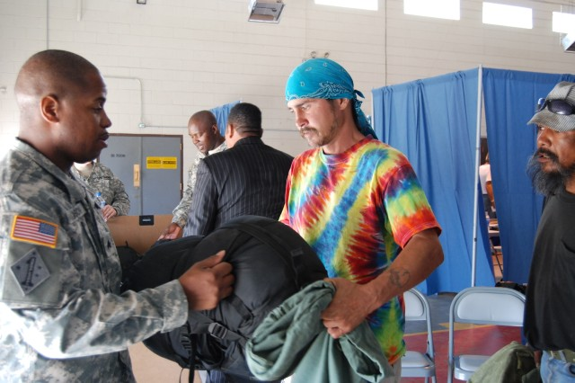 Soldiers strive to help Veterans