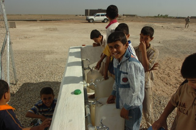 Smiles and clean water