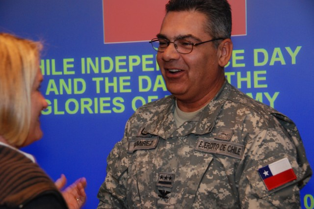 Chilean officer joins U.S. Army South team