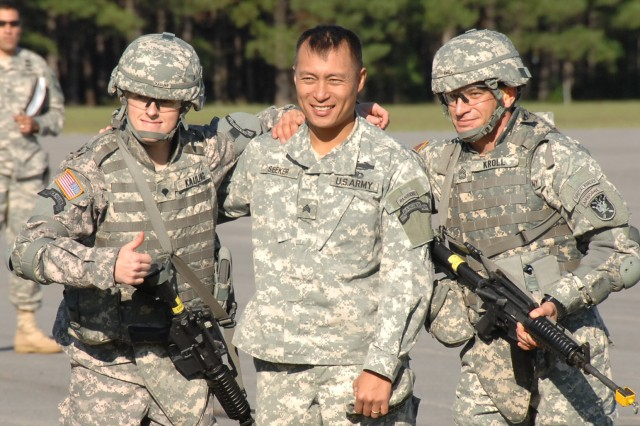 "USASOC Soldiers Battle for ""Best Warrior"""