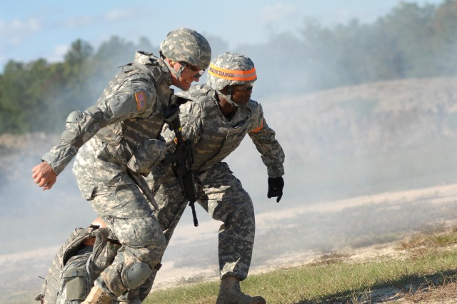 "MEDCOM Soldier Engages in ""Best Warrior"""