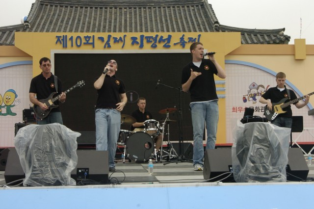 EUSA band performs in two cultural festivals