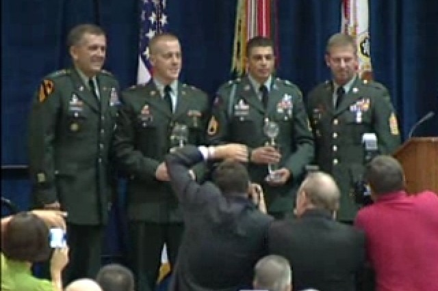 Soldier of the Year Competitors