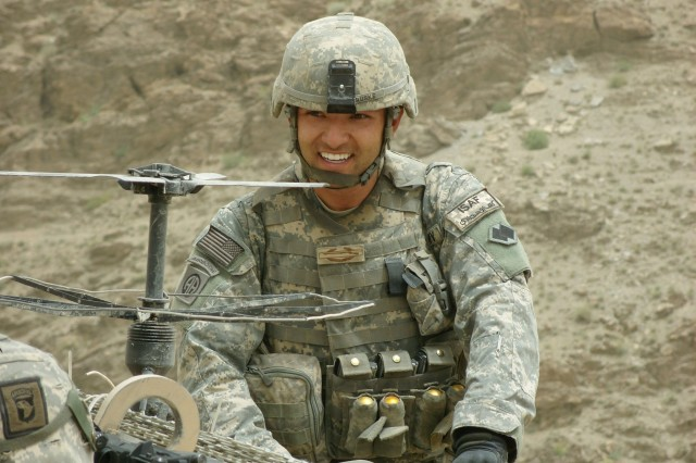 Sgt. Gregory S. Ruske will become the fourth Army Reservist to receive the Silver Star for heroism demonstrated after he and his fellow soldiers were ambushed in Afghanistan's Kapisa province April 21, 2008.