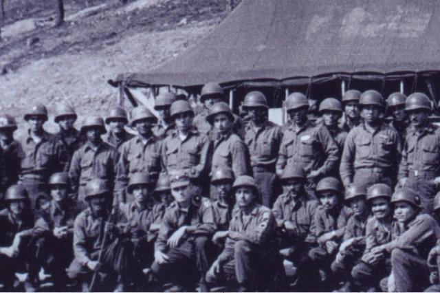 Hispanic Soldiers mambo on Hill 167