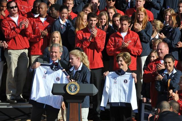 President gets Team USA jacket