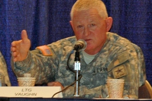 Lt. Gen. Clyde A. Vaughn, director of the Army National Guard, said it was painful to close more than 150 armories, but it allowed restructuring of the force to increase unit strengths.