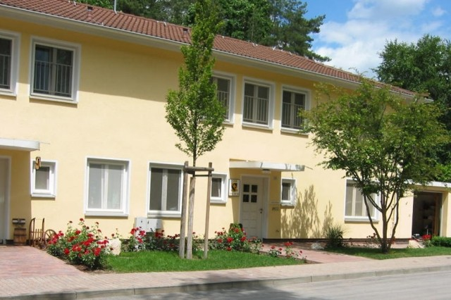 Planned improvements for the Askren Manor housing area on U.S Army Garrison Schweinfurt, Germany, are similar to those pictured in this USAG Bamberg neighborhood