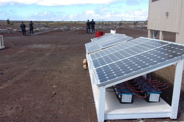 PTA training ranges benefit from solar energy