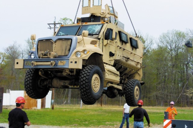 MRAP Automotive Team at work