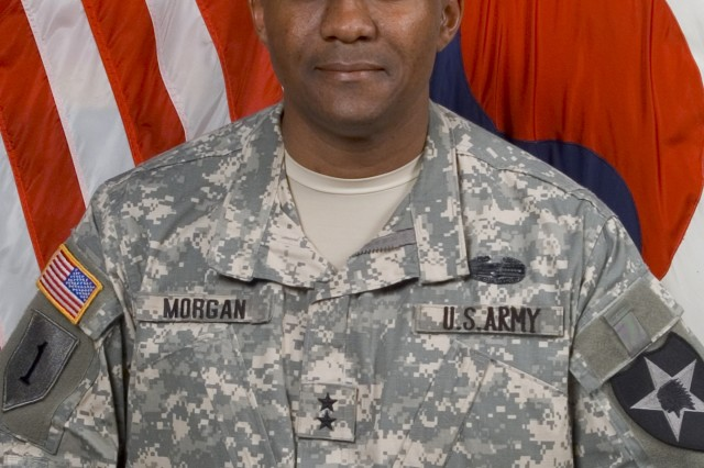 MG John W. Morgan III, commander, U.S. Army 2nd Infantry Division.