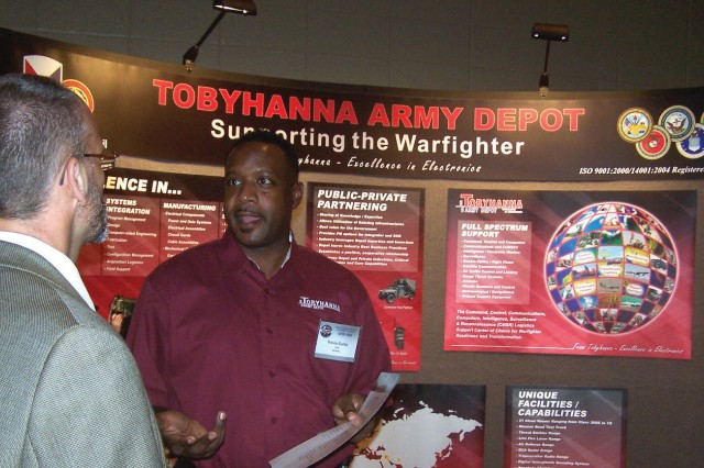 New liaison 'face of Tobyhanna' for aviation community