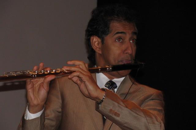 Latin Grammy winner Nestor Torres performs Oct. 14 in Bob Jones Auditorium.
