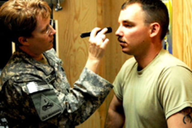 Demonstration of a military acute concussion assessment