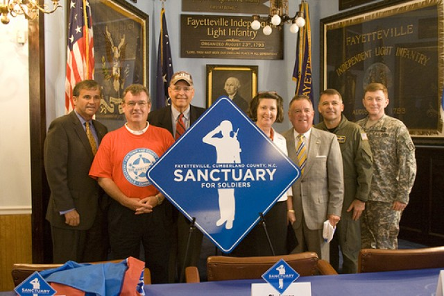 Fayetteville, N.C. is home to the first Soldier's Sanctuary.