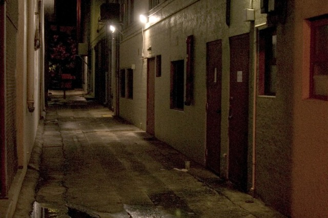 HONOLULU - A dark alley sets the scene for a ghost story as a tale of murder, guts and gore spreads through the night. The history of Hawaii and numerous tales of ghostly appearances surround the walking tour through downtown Honolulu.