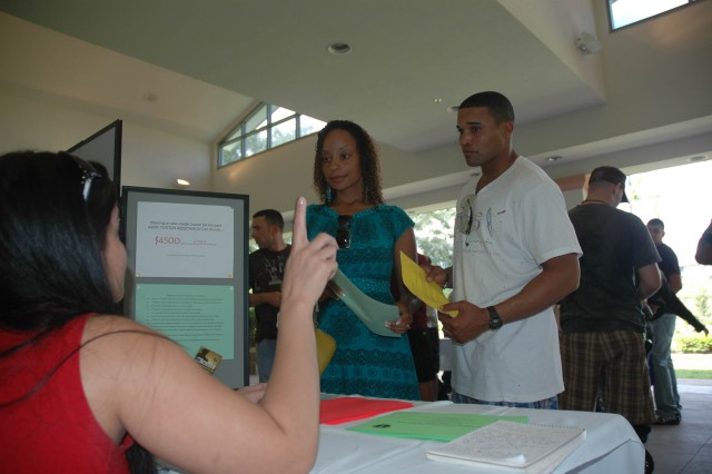 Spouses join Soldiers for pre deployment briefing