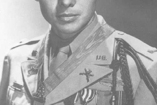 Audie Murphy was the most decorated veteran of World War II. One of his relatives, Clinton Murphy is graduating from Basic Combat Training at Fort Jackson, S.C.