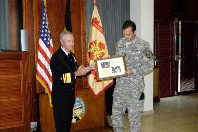 U.S. Army Garrison Brussels Commander Lt.