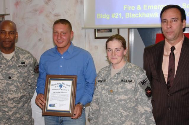 Former USAG Mannheim fireman honored