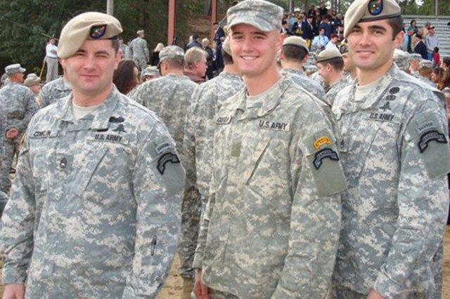 Mike Conklin's sons, all Army Rangers, helped inspire him to establish The Sentinels of Freedom Scholarship Foundation. Dozens of Soldiers have been placed in the program over the past few years.