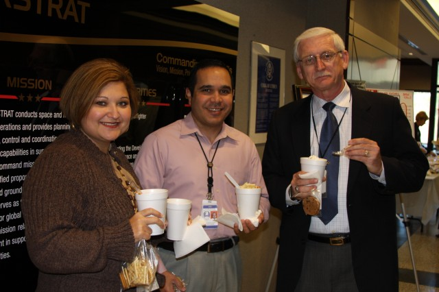 SMDC/ARSTRAT employees enjoy their chili and soup.