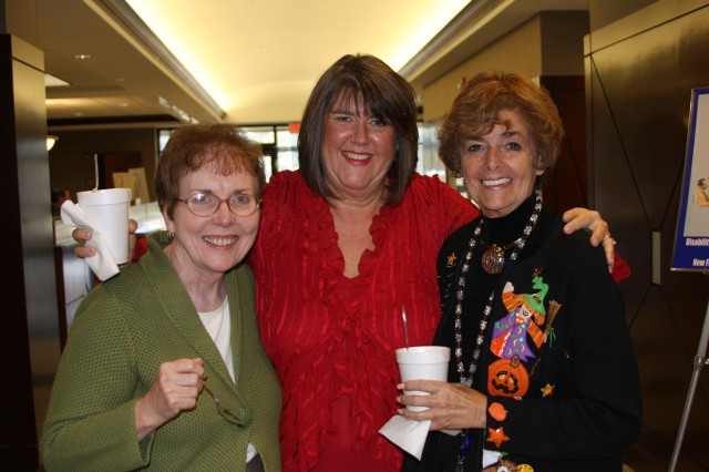 SMDC/ARSTRAT employees enjoy spending time together as part of the Chili Fundraiser.