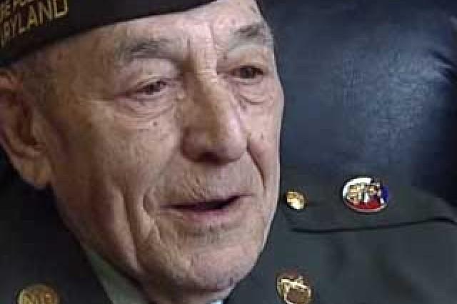 Sgt. Maj. (retired) Daniel Funk, WWII Veteran.
