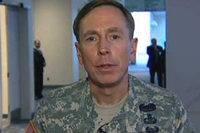 Gen. David Petraeus, CENTCOM Commander.