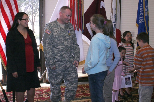 Fort Carson Soldier receives Soldier's Medal