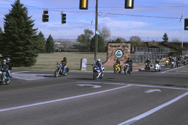 Bikers collect toys for Fort Carson Santa's Workshop