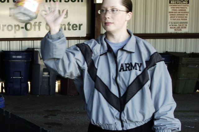 Recycling: Army goes green on post