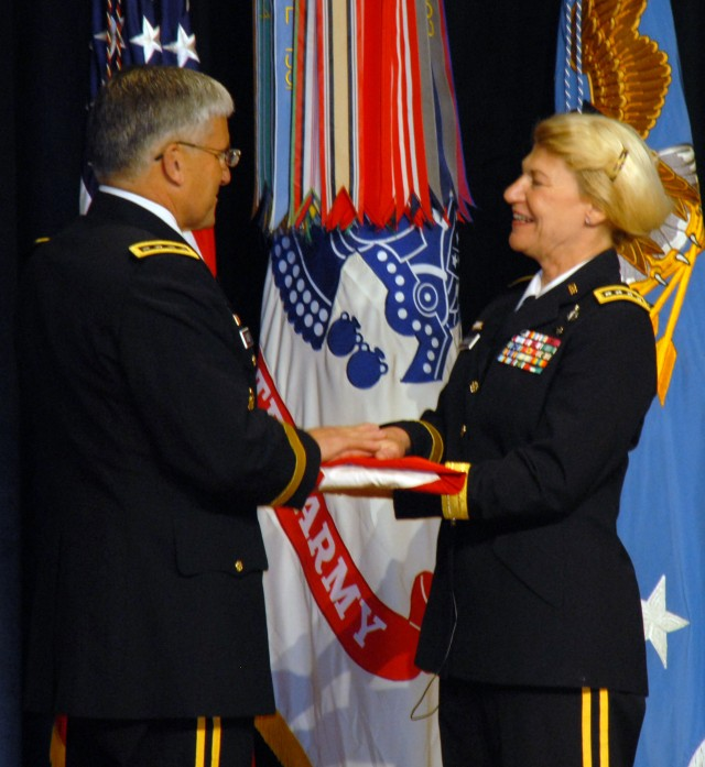 First female four-star promoted