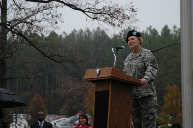 First female four-star in U.S. history takes command of AMC