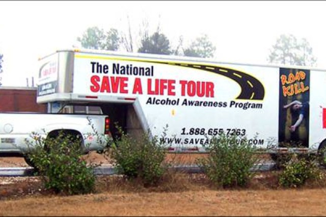 The Save a Life Tour trailer will visit Fort Bliss from Dec. 15 through 19.