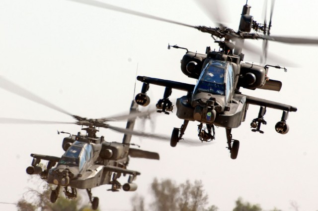 AH-64D Apache file photo