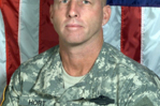 Col. John H. Hort, commander of the 4th Infantry Division's 3rd Brigade Combat Team