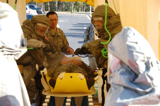 Training targets teamwork among EMS, Army personnel