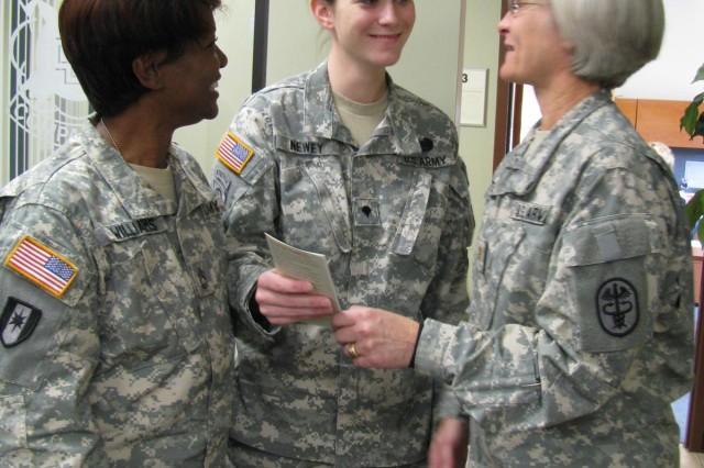 Spc. Newey injured in Iraq recovering at CBWTU