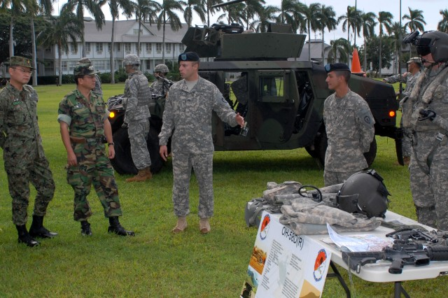 Foreign Attaches visit USARPAC