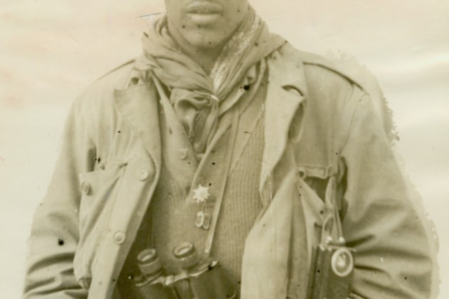Pfc. Douglas W. Kearney during World War II.