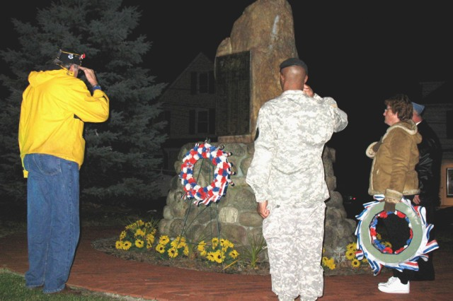 Picatinny Soldiers support local Veterans Day activities